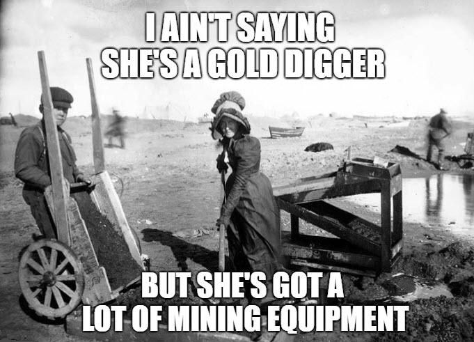 Gold Digger Meme