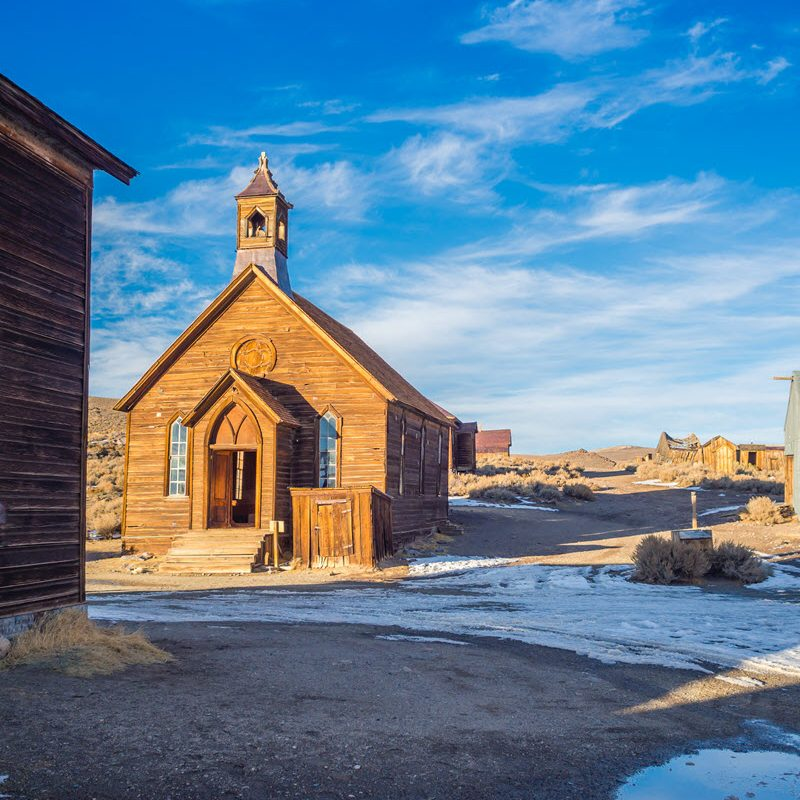 Church in Bodie CA